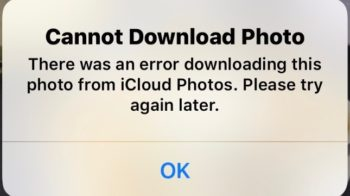 iPhone There Was an Error Downloading This Photo: How to Fix