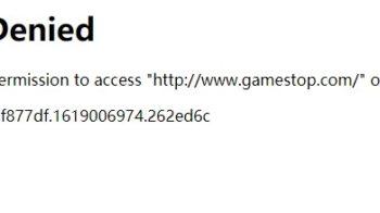 GameStop Website Access Denied Error – How to Fix