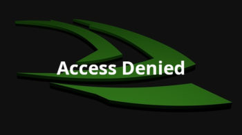 NVIDIA Website Access Denied Error [FIXES]